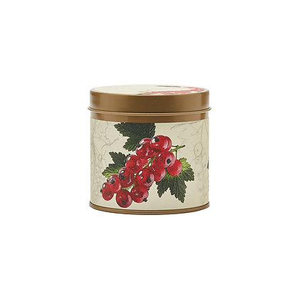 Red Currant & Cranberry Botanical Tin Candle