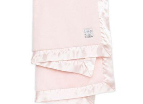 Pink Posh Mink Boxed Receiving Blanket