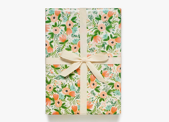 Wildflower Wrapping Paper Roll