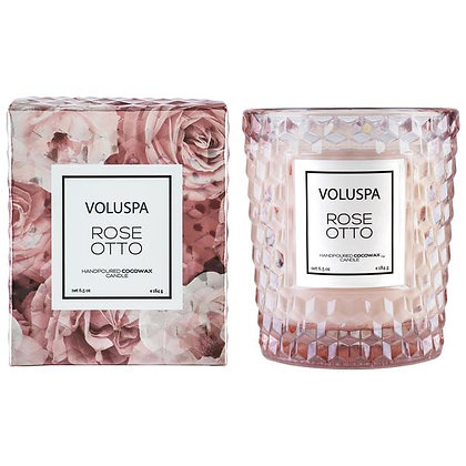 Rose Otto Classic Boxed Candle