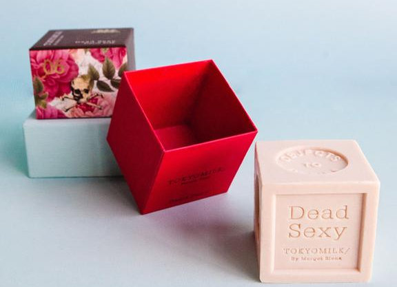 Dead Sexy Embossed Boxed Soap