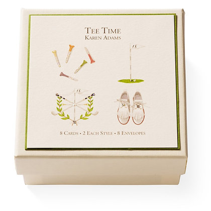 Tee Time Gift Enclosure Boxed Notes Set