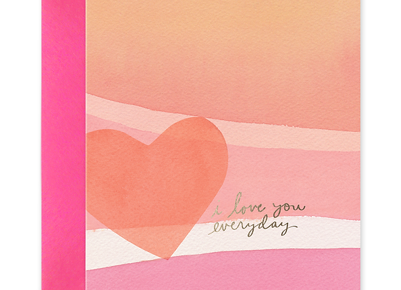 Love You Everyday Card