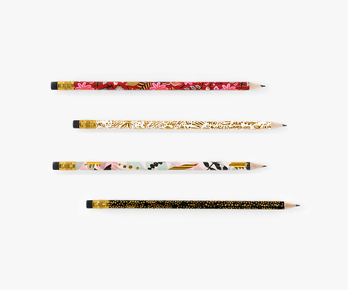 Modernist Writing Pencils Set
