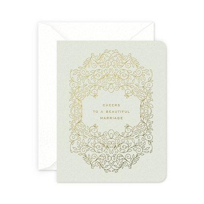 Beautiful Marriage Greeting Card