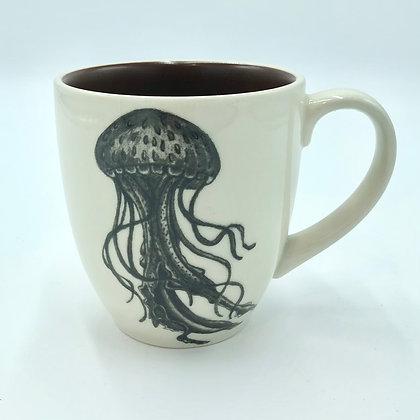 Jellyfish Mug by Laura Zindel