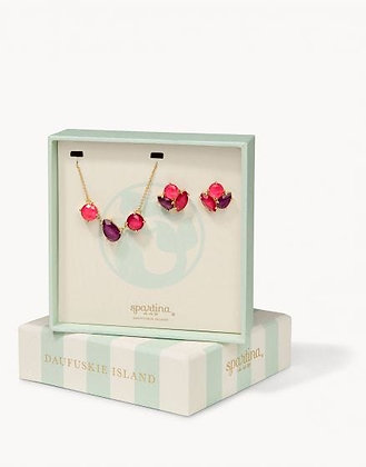 Boxed Earring and Necklace Set- Cocktail