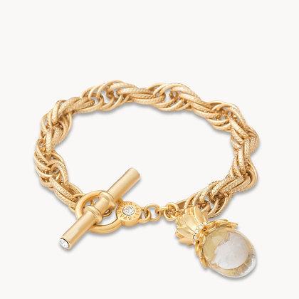 Pineapple Bauble Toggle Bracelet