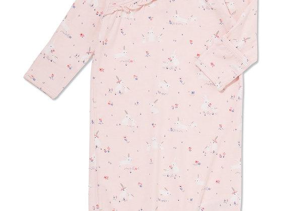 Pink Baby Bunnies Kimono Gown