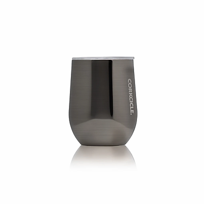 Metallic Stemless Wine Cup