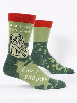 Dad Joke Men's Crew Socks
