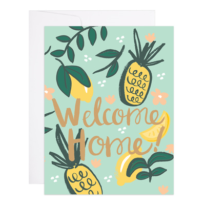 Welcome Home Citrus Card