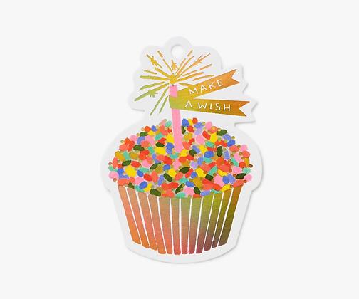Cupcake Die-Cut Gift Tags