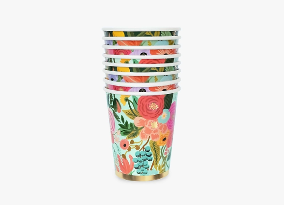 12 Garden Party Paper Cups