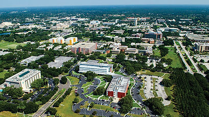 University Of South Florida pictrure taken from the sky