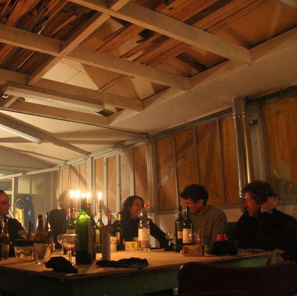 Repas In situ - l'Atelier d'Omer - Rebecq 2016