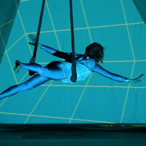 Cirque multimedia - Festival de l'Ecole du cirque - Bxl 2012
