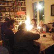 Repas in situ - Chez Sylvestre - Bxl 2019