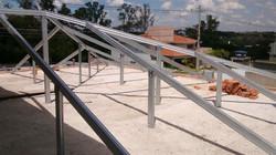 Estrutura p/ telha de Cimento/Barro