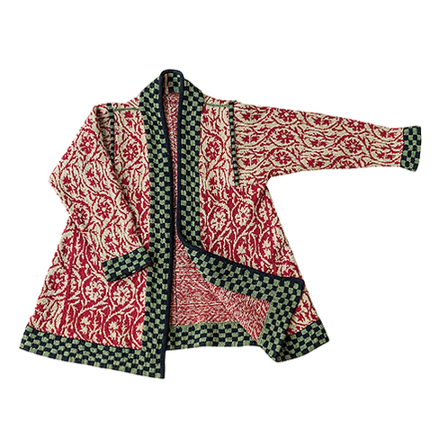 Caledonia frakke med kiler