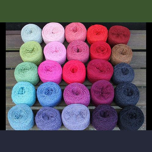 Garnpakke STOR – blandede farver