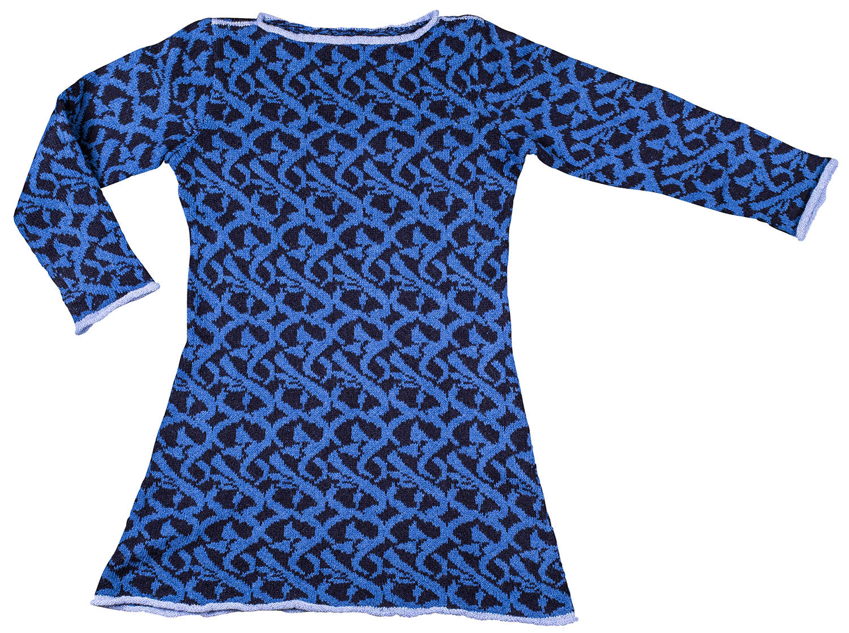 Christel Seyfarth MOSAIK kjole