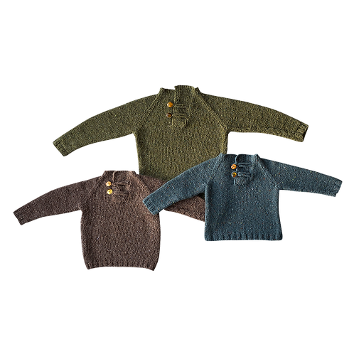 FANØ SWEATER Mohair Tweed - children