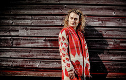 IKAT frakke by Christel Seyfarth