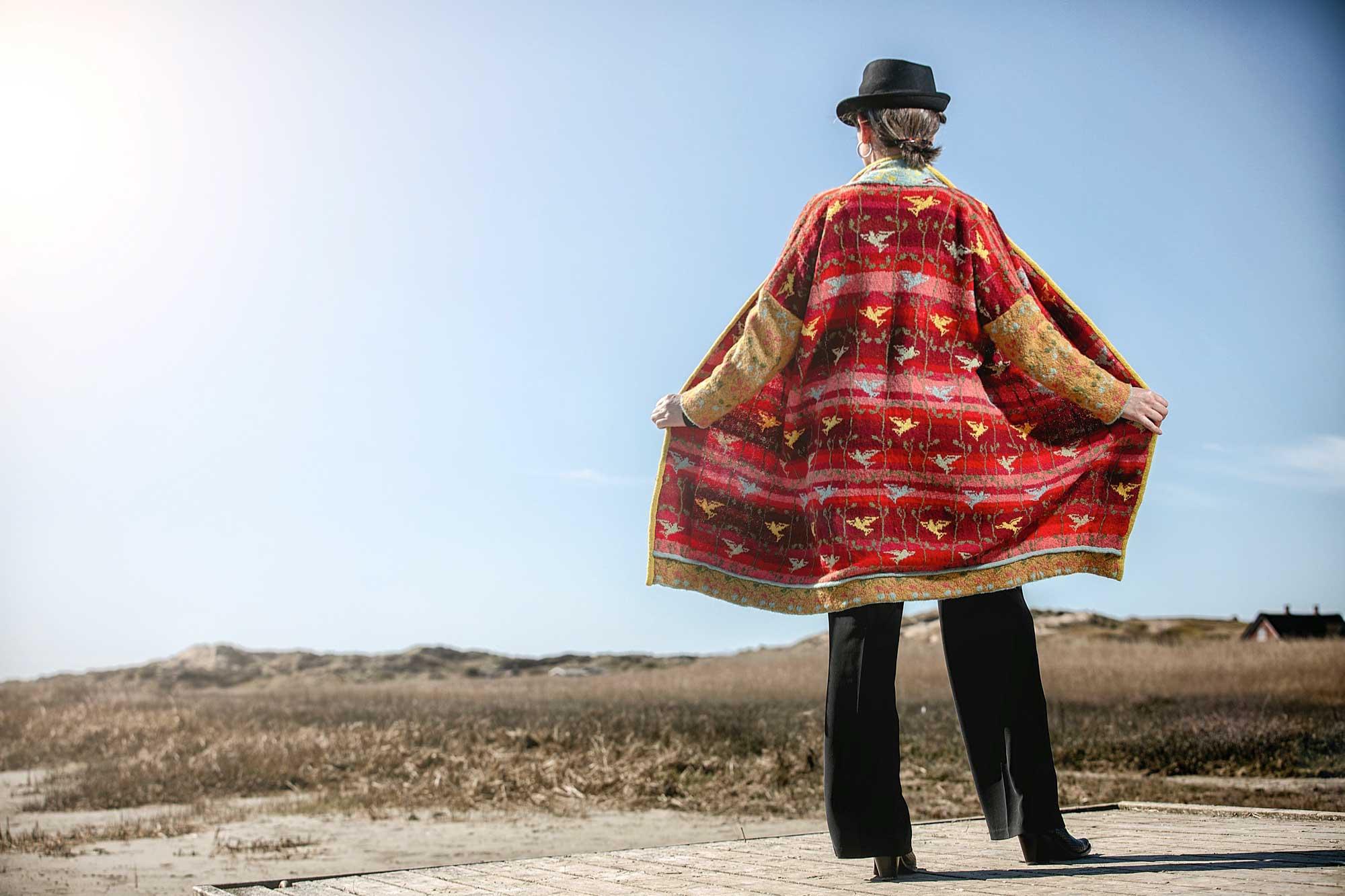 Strandfuglefrakke by Christel Seyfarth