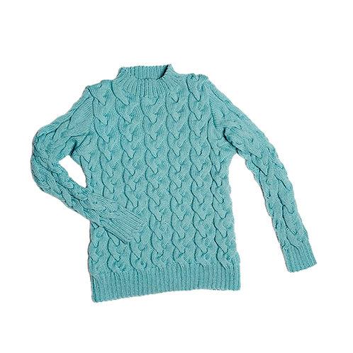 CLASSIC | Cable knit Sweater, Alpaca