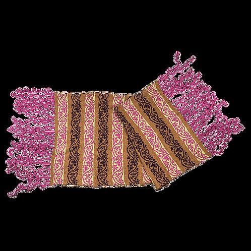 """STOLA - """"Kuling"""" (fra Nordvest) - pink/blåbær/brun bund"""