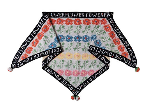 URBAN FLOWER GARDEN SHAWL
