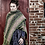 """Thumbnail: """"Gale (from the North West)"""" Stole – Rose/purple/olive"""