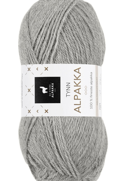 TYNN ALPAKKA - LIGHT GREY