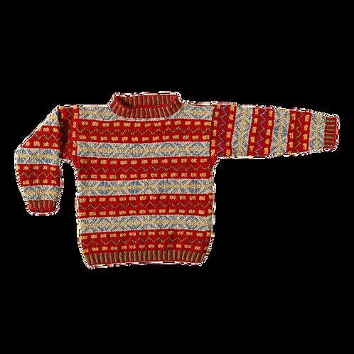 FAIR ISLE trøje til drenge