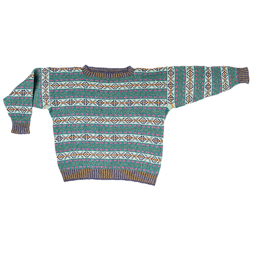 """""""The Prince of Wales"""" – Fair Isle Sweater 