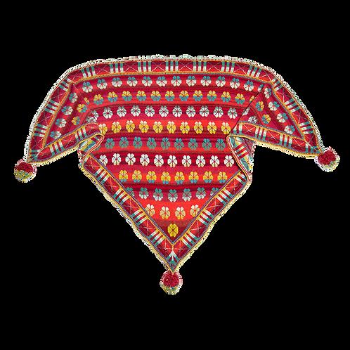 Maltheser sjal - rød