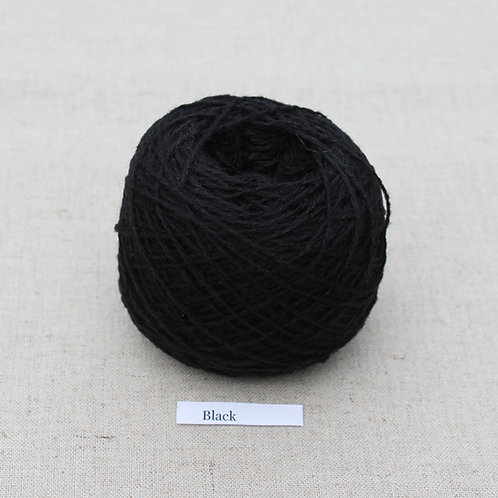 Black | lambswool