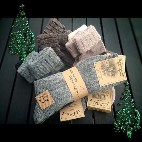 Socks in Alpaca | For him or her