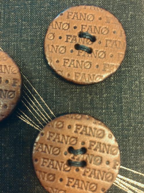 BUTTONS - FANØ leather buttons | Handmade