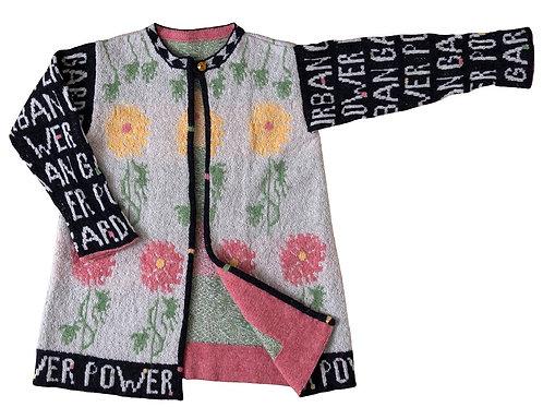 URBAN FLOWER GARDEN JACKET - LONG