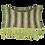 "Thumbnail: STOLA - ""Kuling"" (fra Nordvest) - rosa/lilla/olivengrøn bund"