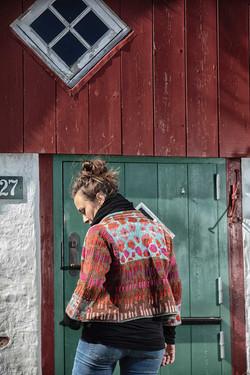 Christel Seyfarth Urban Flower Garden Jacket