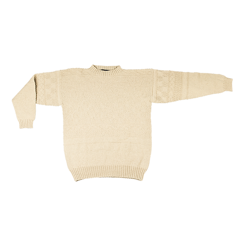 CLASSIC FANØ GANSEY - Sweater for strong men | Lamswool