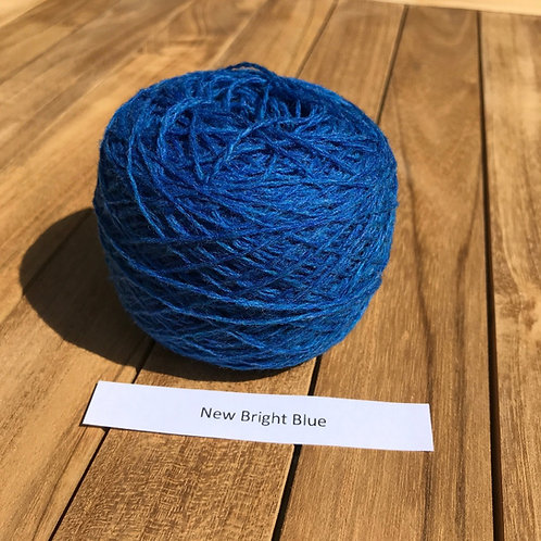 New Bright Blue - Lambswool