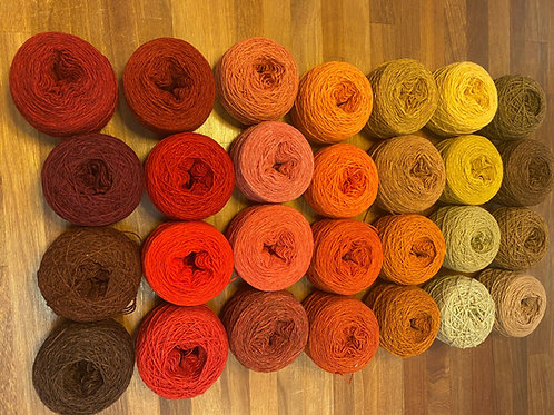 YARN KIT LARGE | WARM SHADES