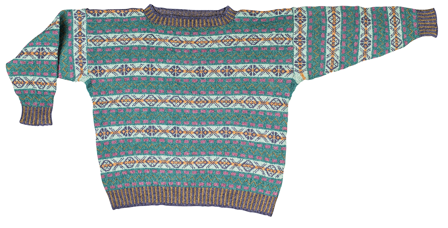 Christel Seyfarth Fair Isle Sweater
