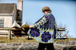 Christel Seyfarth IKAT Coat