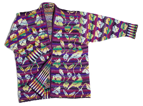 Christel Seyfarth flora jakke