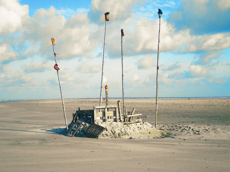 Christel Seyfarth Fanø strand
